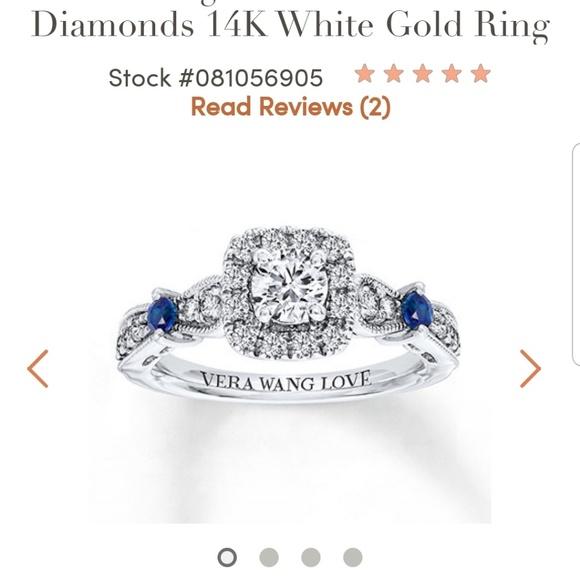 Vera Wang Jewelry Love Engagement Ring Poshmark